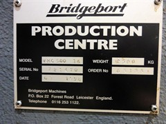 Bridgeport VMC500/16