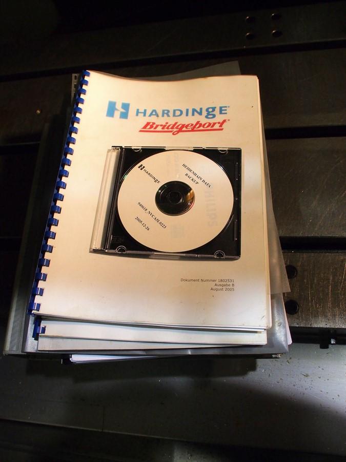 hardinge cnc milling machine